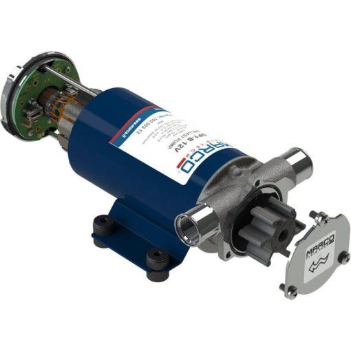 Marco UP1-B Pumpe für Ballast Tank mit Nitrilgummizahnrad 45 l/min (12 Volt) 3