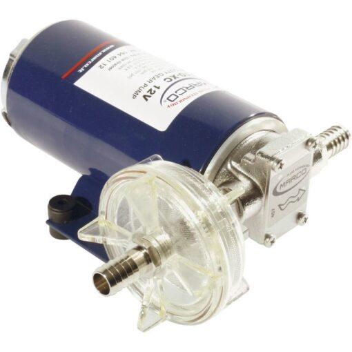 Marco UP10-XC Pumpe aus Edelstahl für Dauerbelastung 18 l/min - AISI 316 L (24 Volt) 3