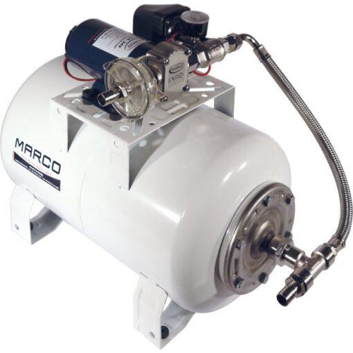 Marco UP12/A-V20 Automatische Druckwasserpumpe 36 l/min + Ausdehnungsgefäss 20 l (24 Volt) 3