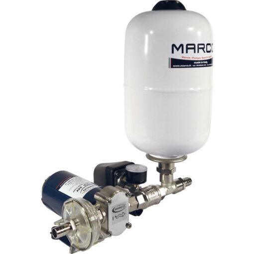 Marco UP12/A-V5 Automatische Druckwasserpumpe 36 l/min + Ausdehnungsgefäss 5 l (24 Volt) 3