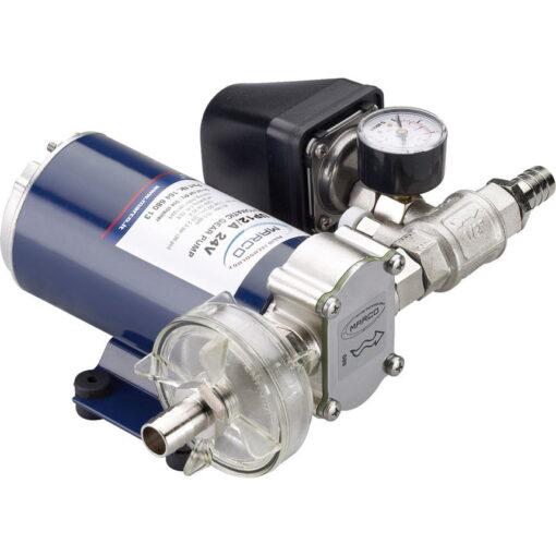 Marco UP12/A Automatische Druckwasserpumpe mit Druckwächter 36 l/min (24 Volt) 3