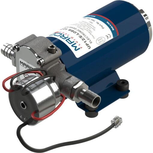 Marco UP12/E-LOBR 12/24V Elektronische Pumpe mit Bronzezahnräder 26 l/min 3