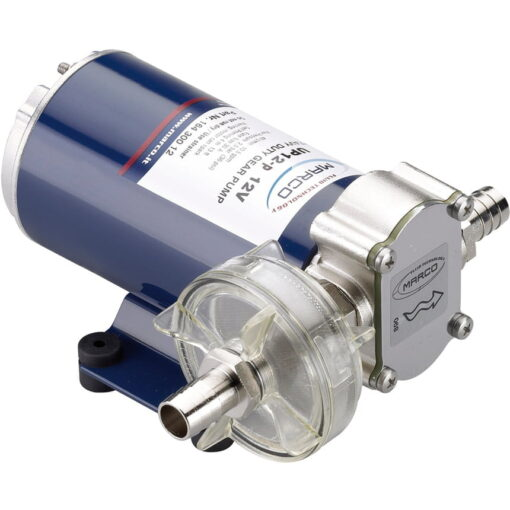 Marco UP12-P Pumpe mit PTFE Zahnrädern 36 l/min (12 Volt) 3