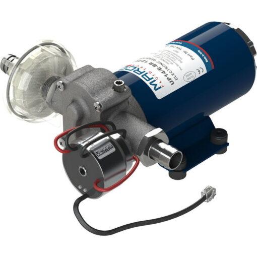 Marco UP14/E-BR 12/24V Elektronische Pumpe mit Bronzezahnräder 46 l/min 3