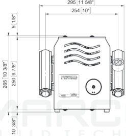 Marco UP14/E-DX Elektronische Druckwasseranlage mit PCS 92 l/min 15