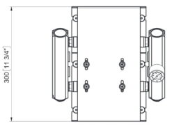 Marco UP14/E-DX Elektronische Druckwasseranlage mit PCS 92 l/min 14
