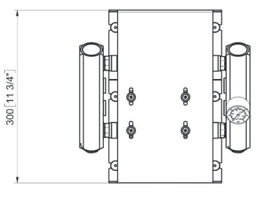 Marco UP14/E-DX Elektronische Druckwasseranlage mit PCS 92 l/min 6