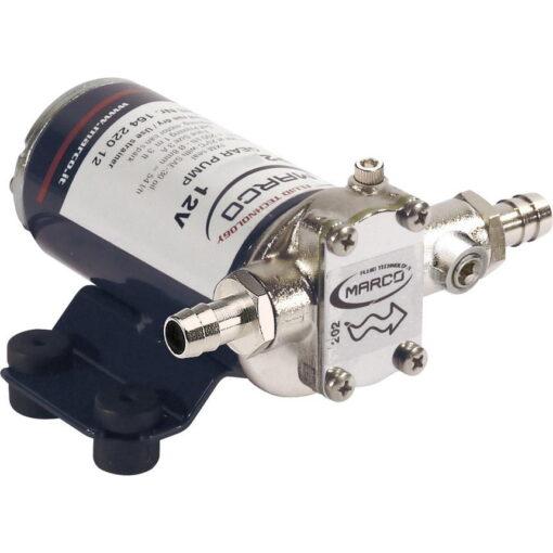Marco UP2-PV Pumpe mit PTFE Zahnrädern und Rückschlagventil 10 l/min (12 Volt) 3