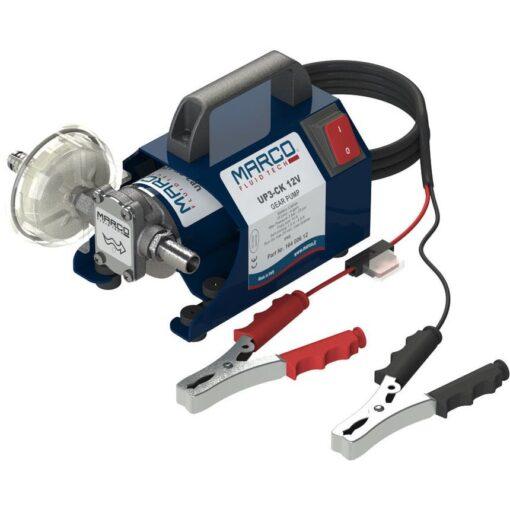 Marco UP3-CK Kit tragbare Zahnradpumpe 15 l/min (12 Volt) 3