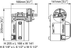 Marco UP3-CK Kit tragbare Zahnradpumpe 15 l/min (12 Volt) 8
