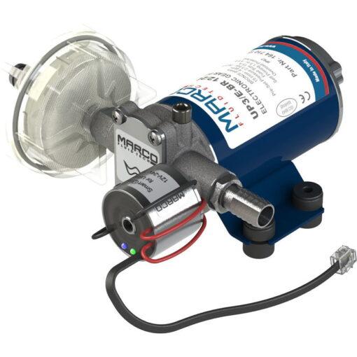 Marco UP3/E-BR 12/24V Elektronische Pumpe mit Bronzezahnräder 15 l/min 3