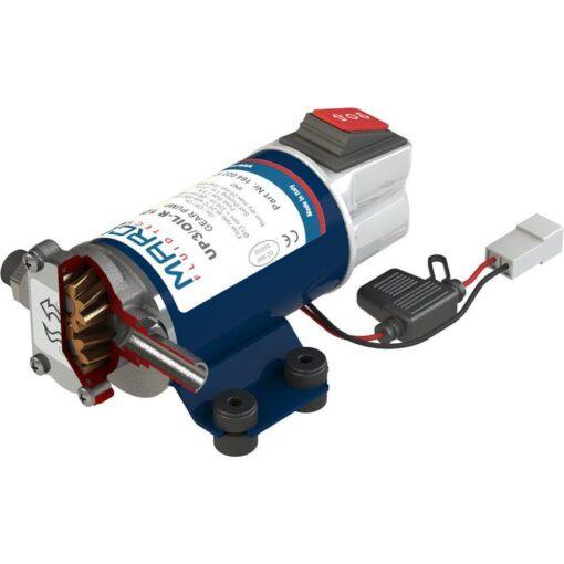 Marco UP3/OIL-R Ölpumpe mit integriertem on/off Schalter reversibel (12 Volt) 3