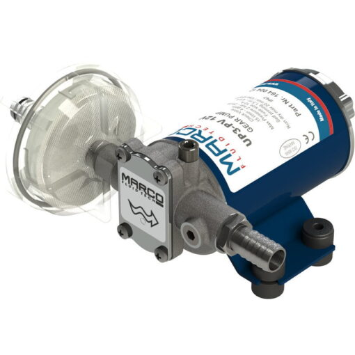 Marco UP3-PV Pumpe PTFE Zahnräder 15 l/min mit Rückschlagventil (24 Volt) 3