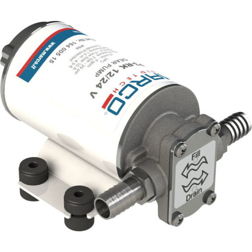 Marco UP3-RK Kit reversible Pumpe 15 l/min mit Paneel (12-24 Volt) 3