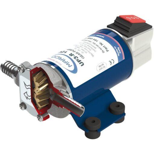 Marco UP3-R Zahnradpumpe 15 l/min mit integriertem Schalter (24 Volt) 3