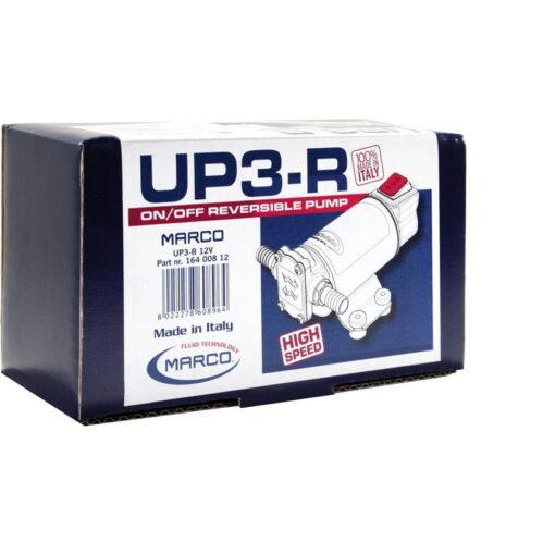 Marco UP3-R Zahnradpumpe 15 l/min mit integriertem Schalter (24 Volt) 7