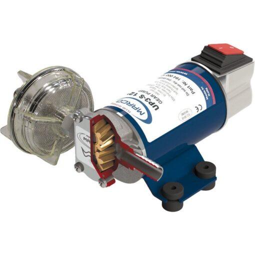Marco UP3-S Zahnradpumpe 15 l/min mit integriertem on/off Schalter (24 Volt) 3