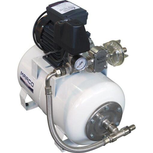 Marco UP6/A-AC 220 V 50 Hz Automatische Druckwasserpumpe mit Ausdehnungsgefäss 20 l 3