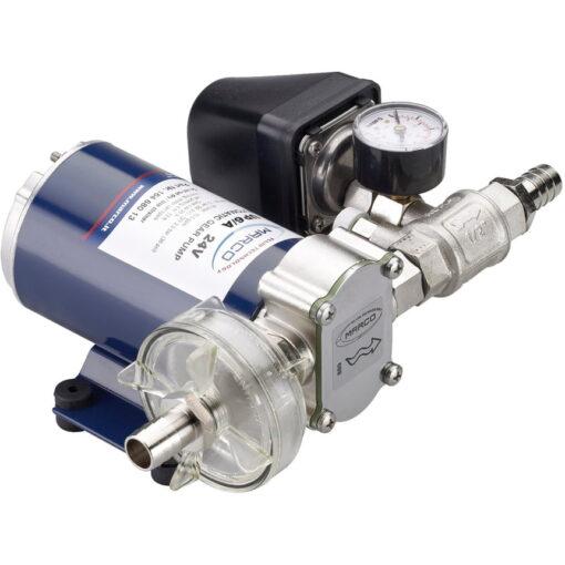 Marco UP6/A Automatische Druckwasserpumpe mit Druckwächter 26 l/min (12 Volt) 3