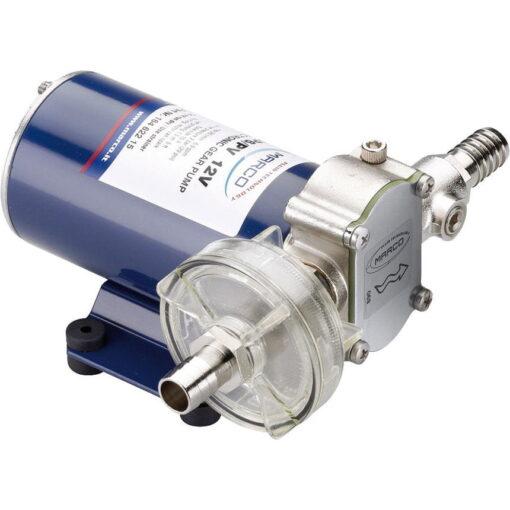 Marco UP6-PV Pumpe mit PTFE Zahnrädern und Rückschlagventil 26 l/min (24 Volt) 3