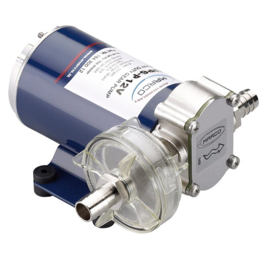 Marco UP6-P Pumpe mit PTFE Zahnrädern 26 l/min (24 Volt) 3