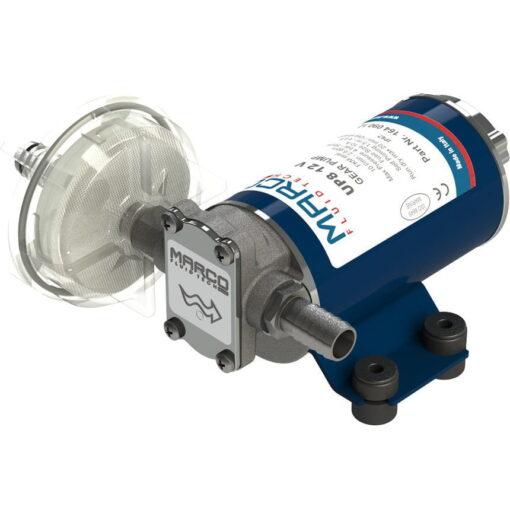 Marco UP8 Pumpe für Dauerbelastung mit Bronzezahnrädern 10 l/min (24 Volt) 3