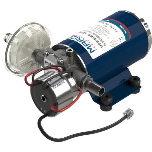 Marco UP9/E-BR 12/24V Elektronische Pumpe mit Bronzezahnräder 12 l/min 3