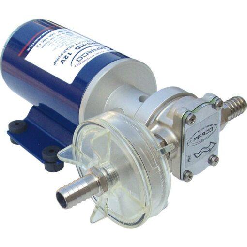 Marco UP9-HD Pumpe für Dauerbelastung mit Flansch 12 l/min (24 Volt) 3