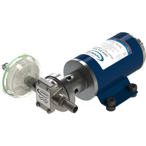 Marco UP9-XA Pumpe für Unkrautvernichtungsmittel 12 l/min - AISI 316 L - FKM (Viton) Dichtungen (24 Volt) 3