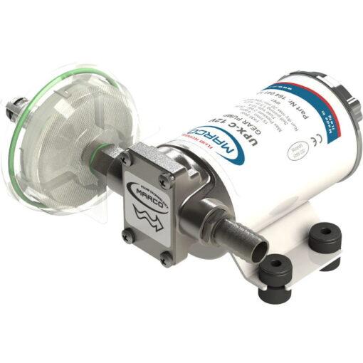 Marco UPX-C Pumpe aus Edelstahl für Chemikalien 15 l/min AISI 316 (24 Volt) 3