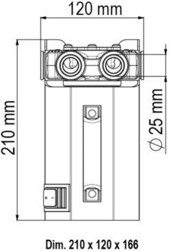 Marco VP45-K Set zum Tanken mit Schaufelpumpe 45 l/min (24 Volt) 12