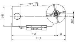 Marco DP12 Kit Deckwaschpumpe 5 bar (24 Volt) 9