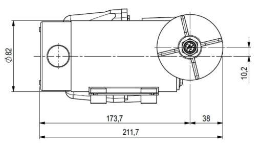Marco DP12 Kit Deckwaschpumpe 5 bar (24 Volt) 5