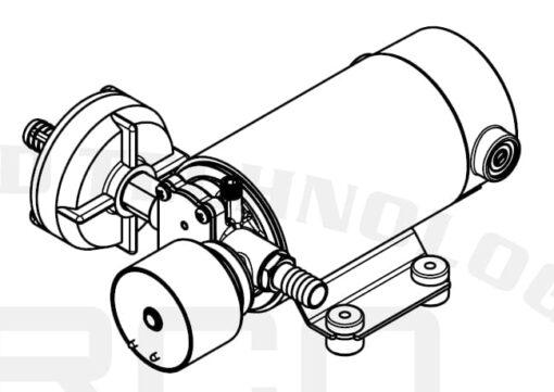 Marco DP12/E Deckwaschpumpe mit elektronischer Kontrolle 5 bar 9