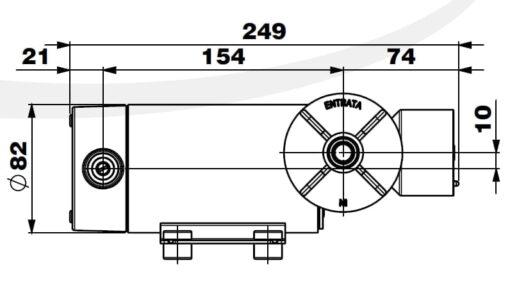 Marco DP12/E Deckwaschpumpe mit elektronischer Kontrolle 5 bar 8