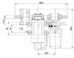Marco DP3 Kit Deckwaschpumpe 3 bar (24 Volt) 8