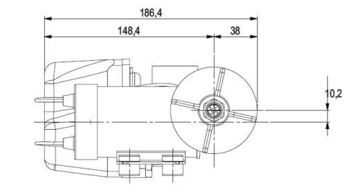 Marco DP3 Kit Deckwaschpumpe 3 bar (24 Volt) 6