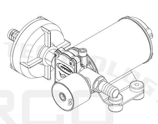 Marco DP3/E Deckwaschpumpe mit elektronischer Kontrolle 3 bar 7