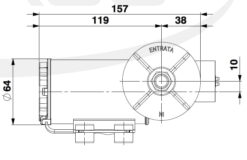 Marco DP3/E Deckwaschpumpe mit elektronischer Kontrolle 3 bar 10