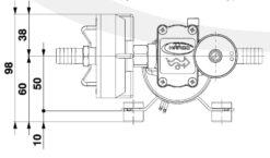 Marco DP3/E Deckwaschpumpe mit elektronischer Kontrolle 3 bar 9