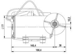 Marco DP9 Kit Deckwaschpumpe 4 bar (24 Volt) 9