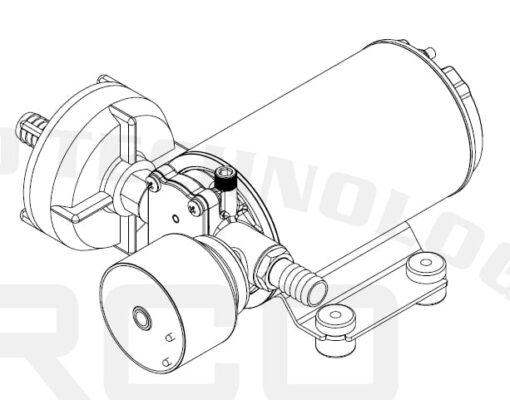 Marco DP9/E Deckwaschpumpe mit elektronischer Kontrolle 4 bar 6