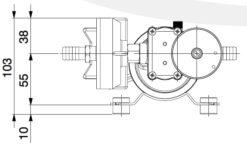 Marco DP9/E Deckwaschpumpe mit elektronischer Kontrolle 4 bar 9