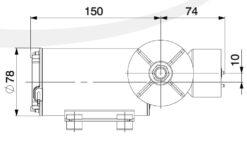 Marco DP9/E Deckwaschpumpe mit elektronischer Kontrolle 4 bar 8