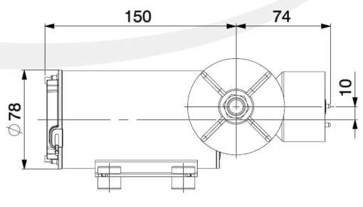Marco DP9/E Deckwaschpumpe mit elektronischer Kontrolle 4 bar 4