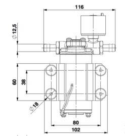 Marco SP2 Duschkit - Elektropumpe mit elektronischer Kontrollfunktion 2 bar 12