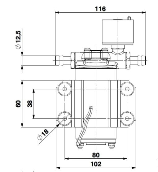 Marco SP2 Duschkit - Elektropumpe mit elektronischer Kontrollfunktion 2 bar 7