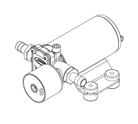 Marco SP2 Duschkit - Elektropumpe mit elektronischer Kontrollfunktion 2 bar 6