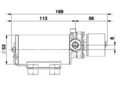 Marco SP2 Duschkit - Elektropumpe mit elektronischer Kontrollfunktion 2 bar 10