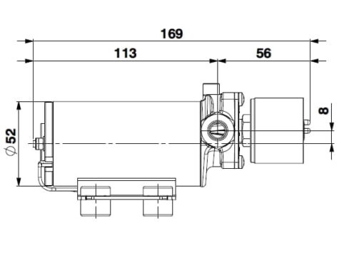 Marco SP2 Duschkit - Elektropumpe mit elektronischer Kontrollfunktion 2 bar 5